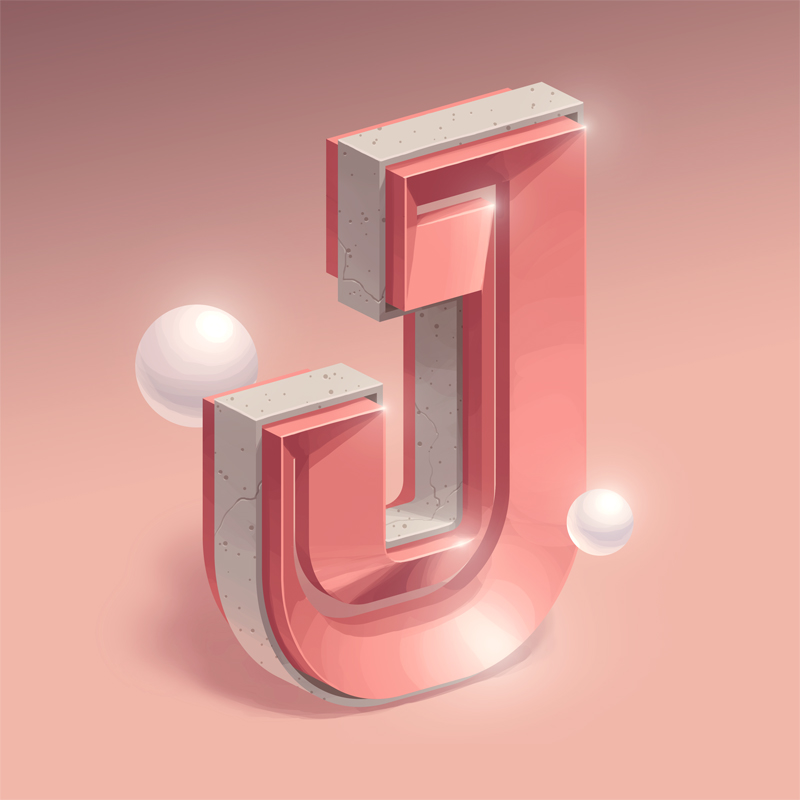 36 Days of Type 2018 - J